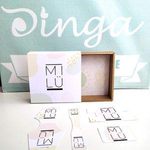 caja y tags
